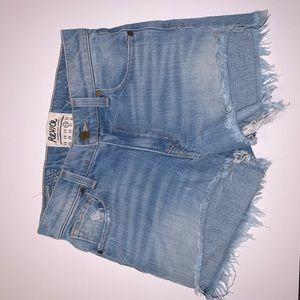 REVICE Denim Crops Shorts